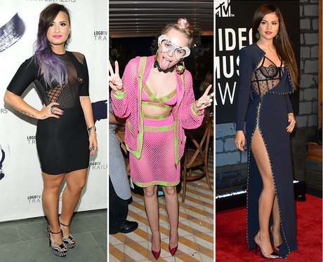 Demi Lovato, Miley Cyrus and Selena Gomez: Transfo