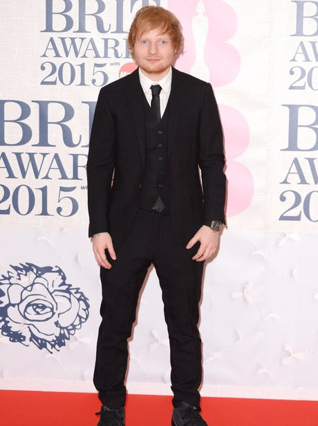Ed Sheeran BRIT Awards 2015