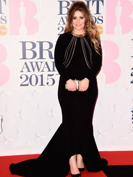 Ella Henderson at The Brit Awards 2015