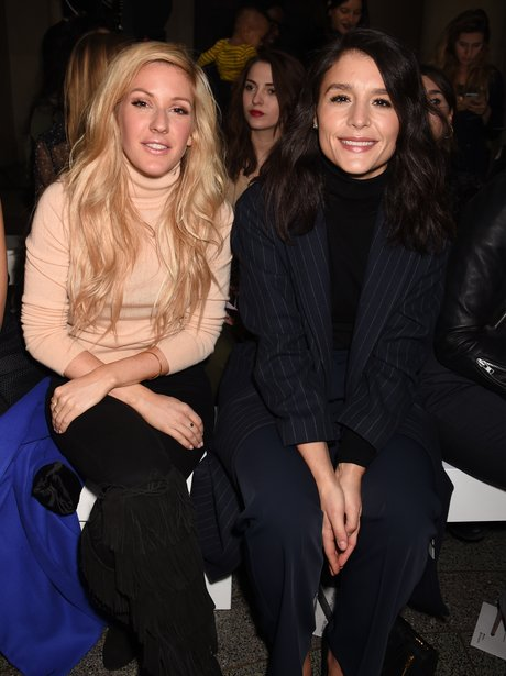 Ellie Goulding and Jessie Ware London Fashion Week