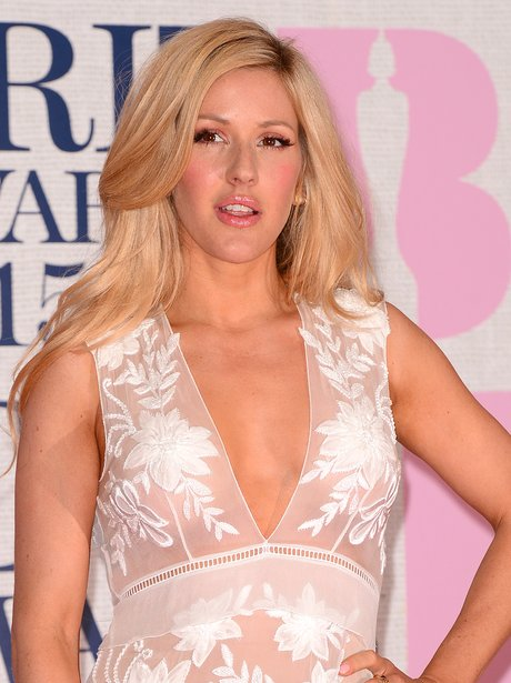 Ellie Goulding Red Carpet BRIT Awards 2015