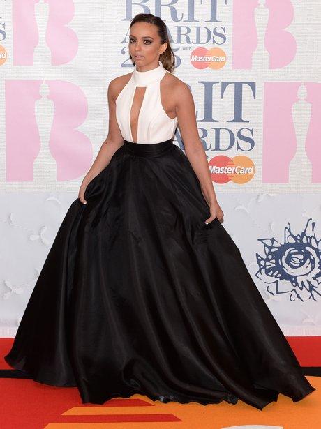 Jade Thirlwall BRIT Awards Red Carpet 2015