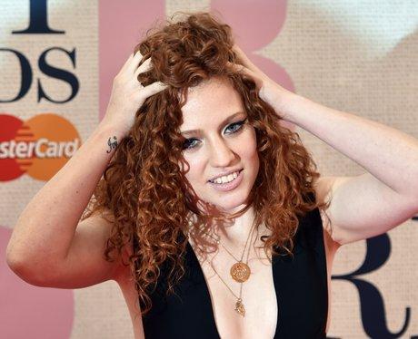 Jess Glynne at the Brit Awards 2015