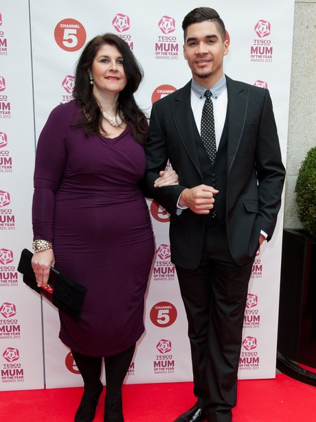 Louis Smith and his mum