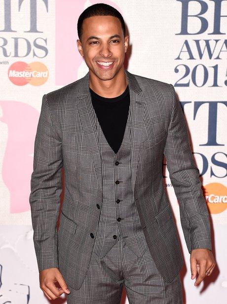 Marvin BRIT Awards Red Carpet 2015