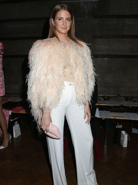 Millie Mackinotsh Fur Coat Fashion Week 2015