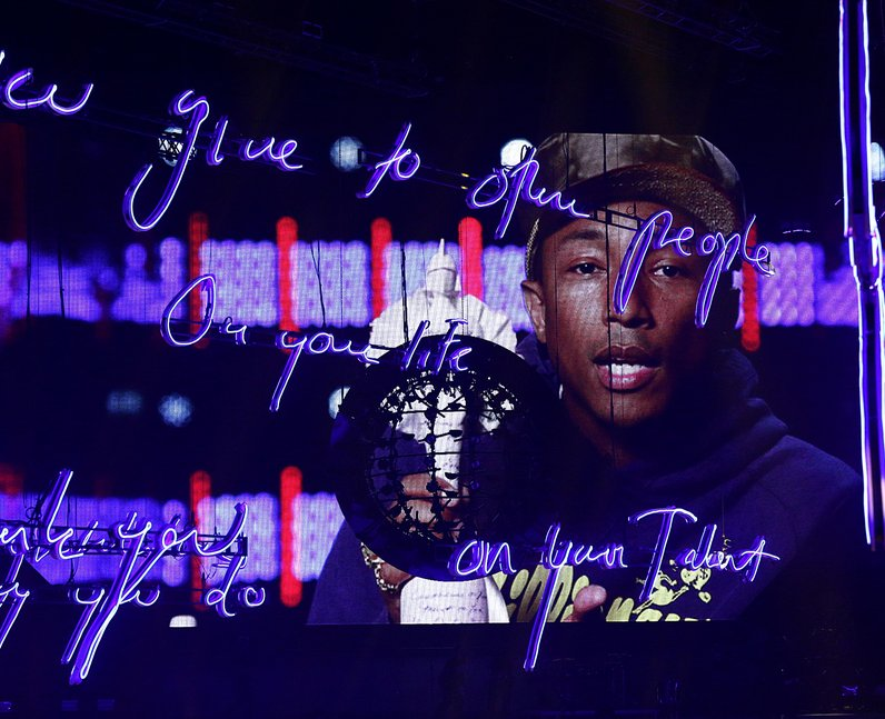 Pharrell BRIT Awards 2015 Video