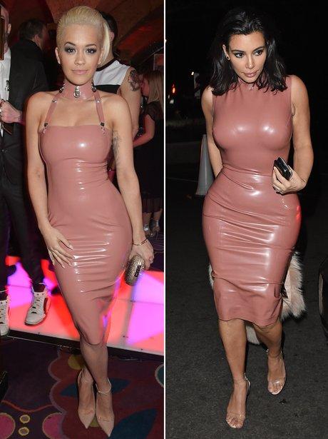 Who Wore It Best: Rita Ora and Kim Kardashian