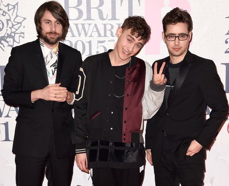 Years and Years BRIT Awards Red Carpet 2015