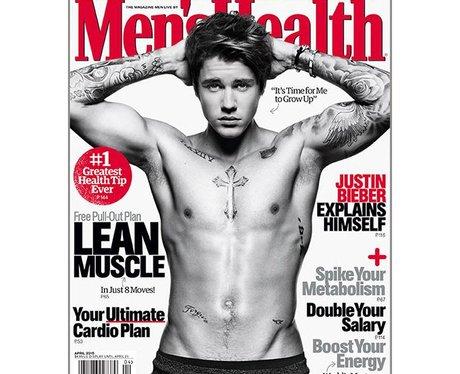 Justin Bieber Mens Health Magazine 2015