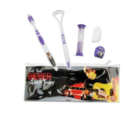 Justin Bieber travel bag