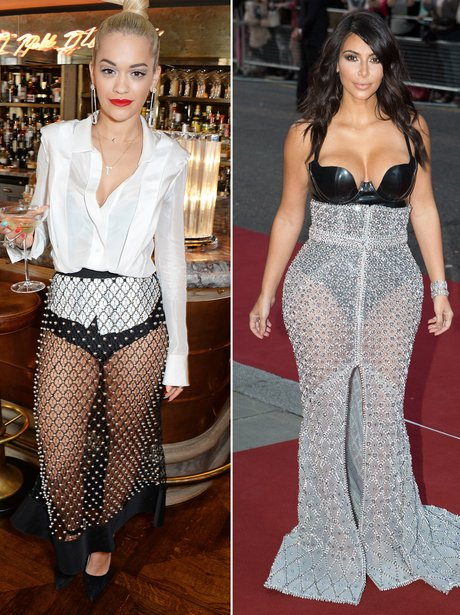 Rita Ora V. Kim Kardashian