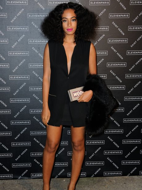 Solange Paris Fashion Week 2015