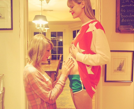Taylor Swift Jaime King Godmother