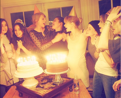 Taylor Swift, Selena Gomez and Jamie King
