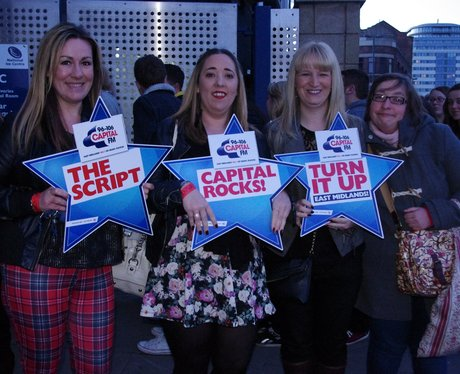 The Script at The Capital FM Arena