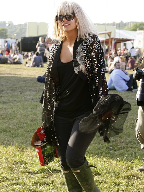 Lilly Allen Glastonbury