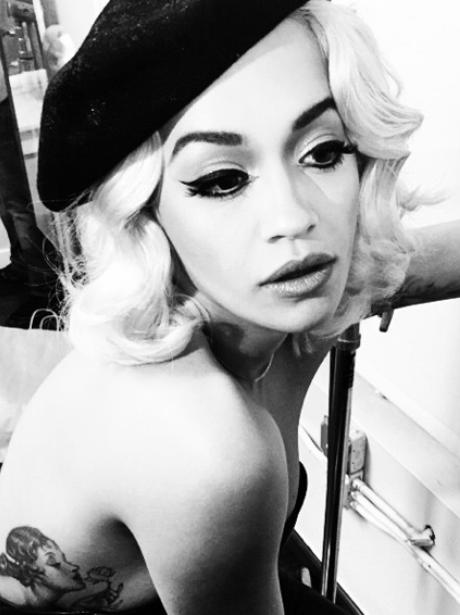 Rita ora sexy instagram picture