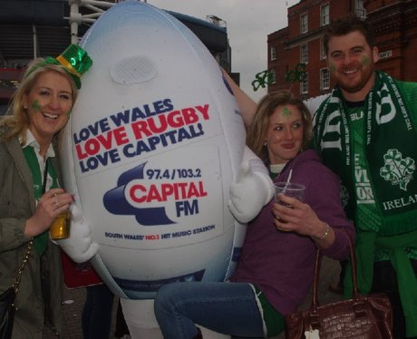 Spot the Ball @ Wales VS Ireland Part 1