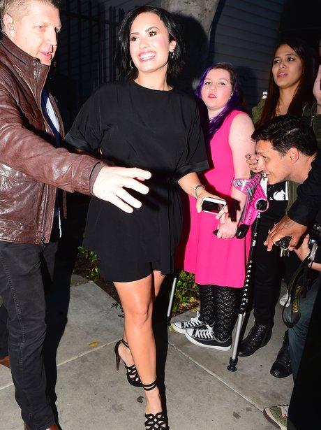 Demi Lovato Black Jumpsuit