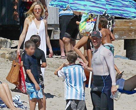 Kate Hudson and Chris Martin Chidren