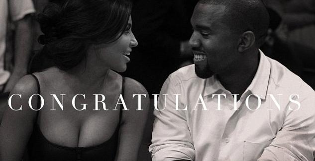 Kim Kardashian Kanye West Congrats From Beyonce