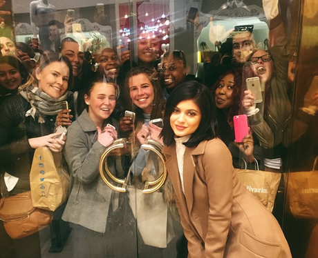 Kylie Jenner and Fans