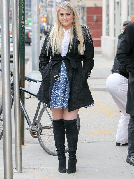 Meghan Trainor in New York