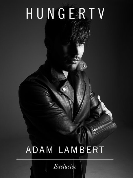 Adam Lambert Hunger Shoot March 2015
