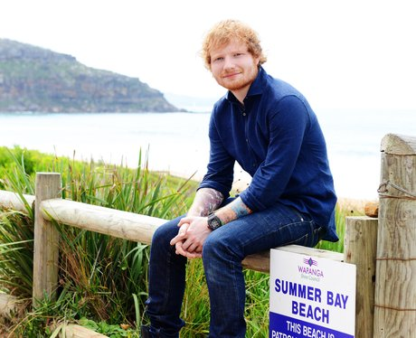 Ed Sheeran Home and Away