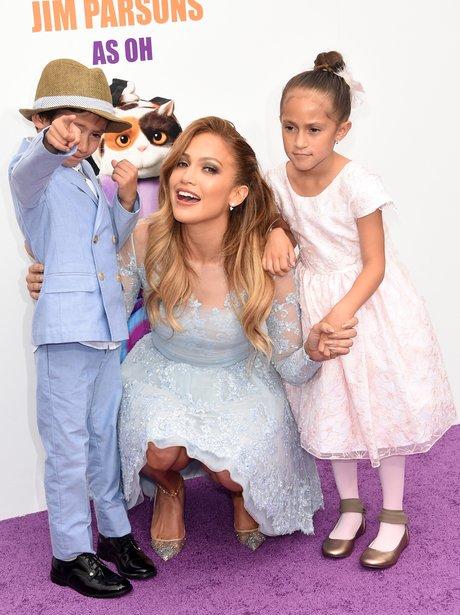 Jennifer Lopez and Children