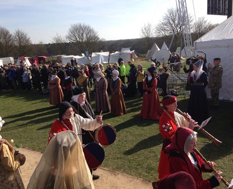 King Richard III has a service at Bosworth