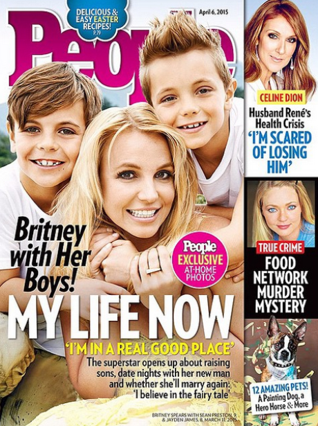 ritney Spears and Children