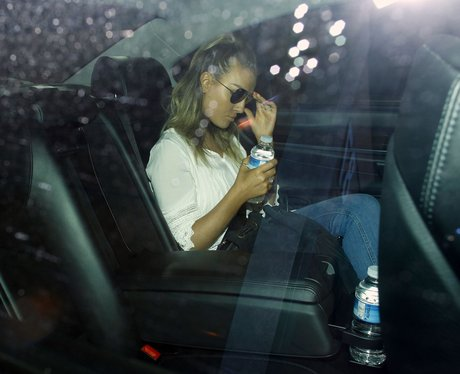 Perrie Edwards leaves her home alone