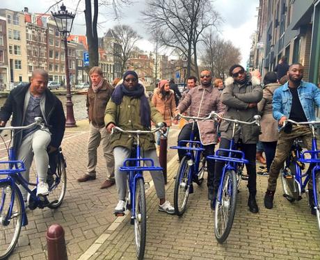 Tinie Tempah in Amsterdam