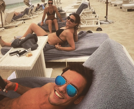 Tom Daley at the beach instagram