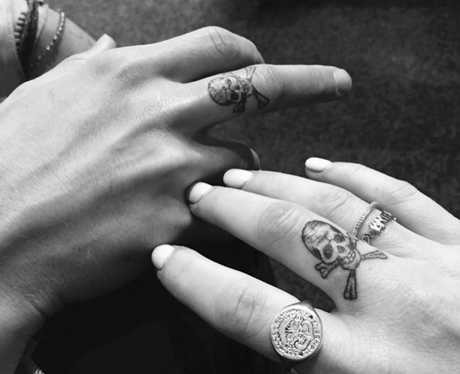 Ellie Goulding and Dougie Tattoo