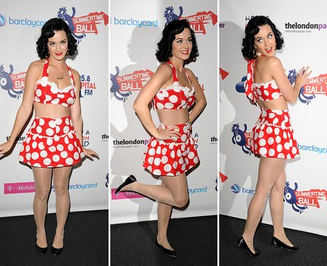 Katy Perry Summertime Ball Red Carpet 2009