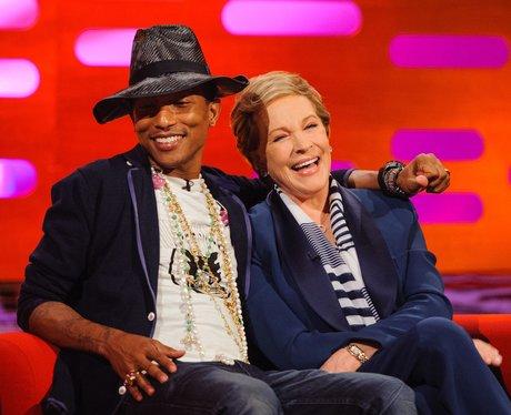 Pharrell and Julie Andrews on Graham Norton