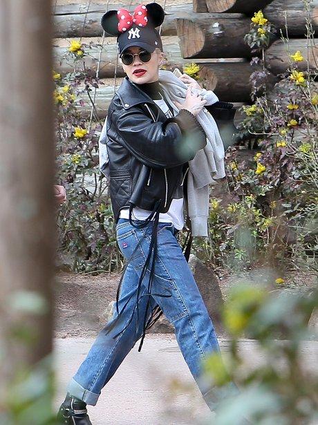 Rita Ora at Disney