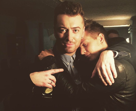 Sam Smith and James McVey Instagram