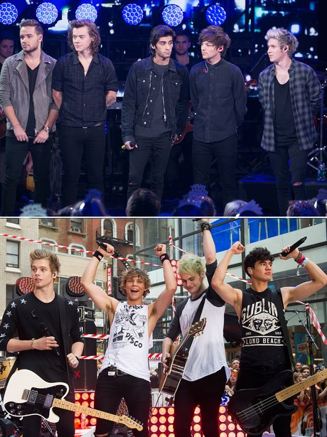 Fashion Face Off One Direction v. 5SOS