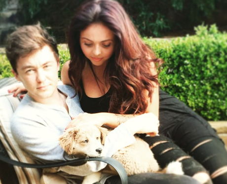 Jesy Nelson and Jake Roche instagram