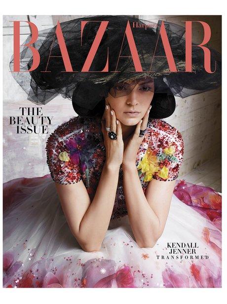 Kendall Jenner Harper's BAZAAR 2015