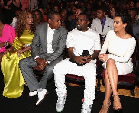 Kim Kardashian Beyonce Jay Z and Kanye West
