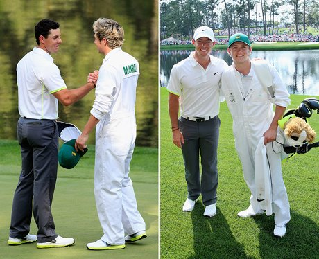 Niall Horan Golf Caddy To Rory Mcllroy