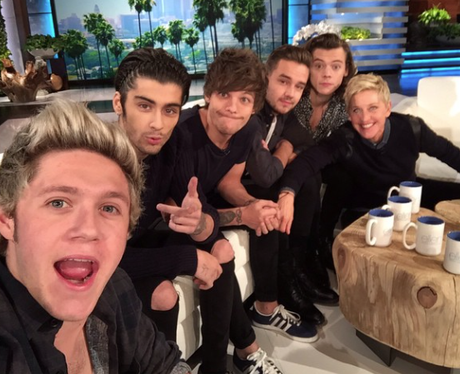 One Direction and Ellen
