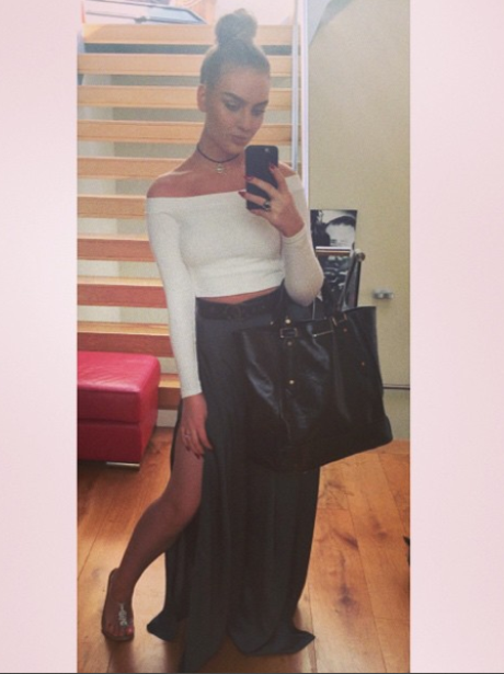 Perrie Edwards Maxi Skirt