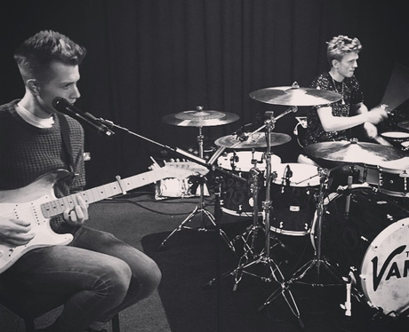 The Vamps Rehearsing