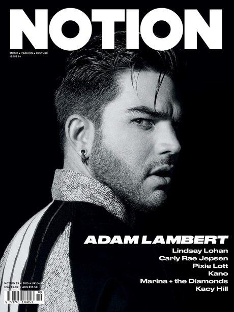 Adam Lambert Notion Magazine 2015